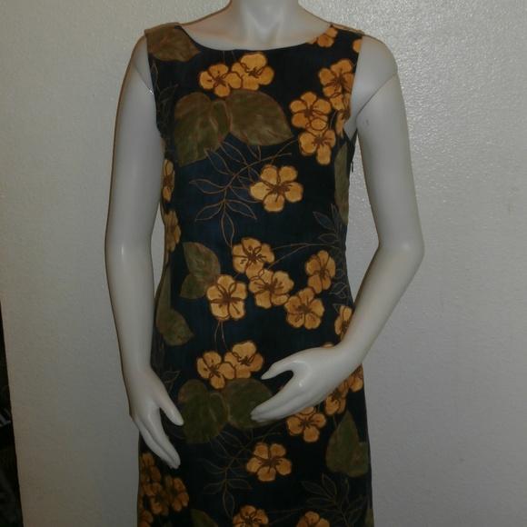 Tommy Bahama Dresses & Skirts - TOMMY BAHAMA Hawaiian women's dress Navy